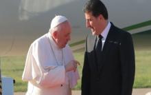 Papayê Pîroz ji bo Serok Nêçîrvan Barzanî: Xweşhal im ku li vir hevdu dibînin