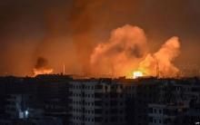قصف إسرائيلي على مواقع إيرانية وحزب الله في سوريا