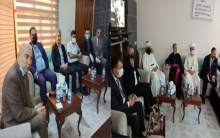 Video... The agent of the Emir of Yazidis, Pastor Philip and religious figures visit the PDK-S office in Erbil