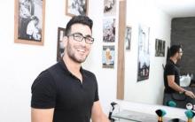 """شيروان عمر.. شاب من قامشلو يحصل على جائزة """"الجمهور"""" في ألمانيا"""