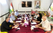 The PDK-S holds a meeting with the P.Y.K.S in Qamishlo