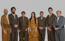 Rojava singing band participates in the Kurdistan Festival of Kurdish song