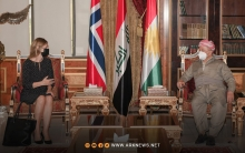 Contents of President Barzani's meeting with the Norwegian Ambassador