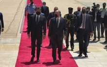 On an official visit... The President of the Kurdistan Region arrives in the Jordanian capital