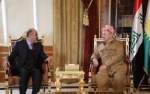 President Barzani receives President of the Syrian Tomorrow Movement