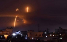 انفجارات عنيفة تهز مطار المزة العسكري