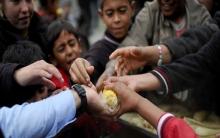 حوالي 75% من  عدد السكان في سوريا يعيشون في فقر مدقع