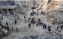فرنسا وروسيا تقرر إرسال مساعدات إنسانية إلى الغوطة