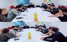 A meeting of the German locality of the Kurdistan Democratic Students and Youth Union – Rojava(West)