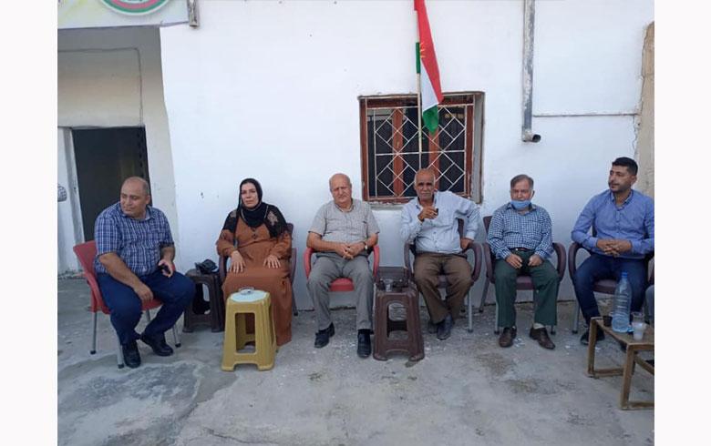 المجلس الوطني الكوردي يفتتح مكتبه في تل تمر