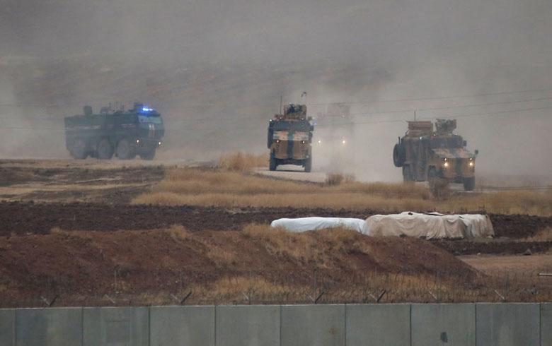 تسيير الدورية الروسية التركية الثالثة في كوردستان سوريا