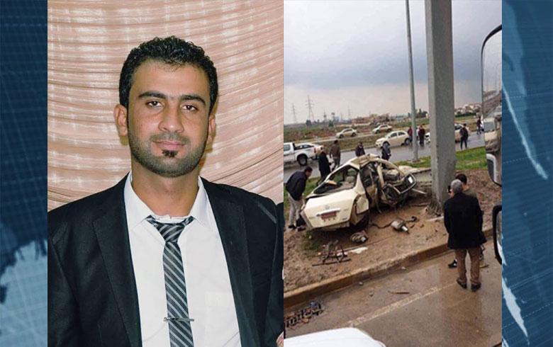هولير .. وفاة لاجئ كوردي من تربسبيى بحادث سير
