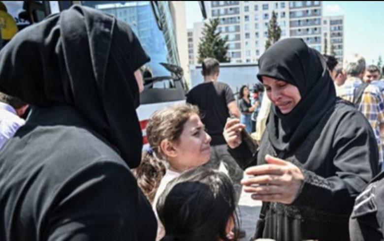 العفو الدولية : تركيا تعيد اللاجئين السوريين قسراً إلى بلادهم قبل إنشاء ‹المنطقة الآمنة›
