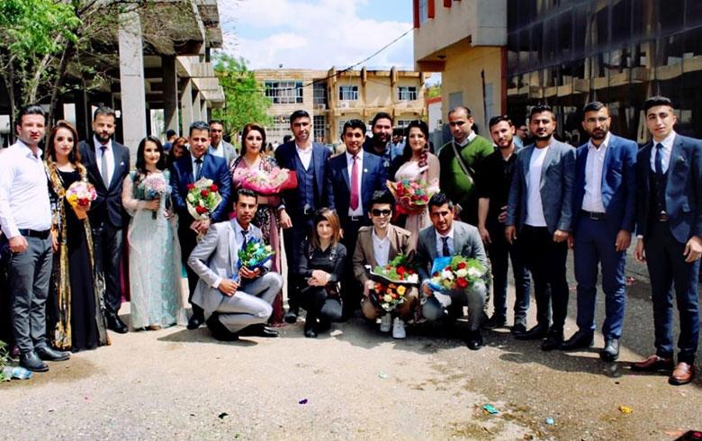 هولير .. تخرّج عدد من طلاب كوردستان سوريا من جامعة صلاح الدين