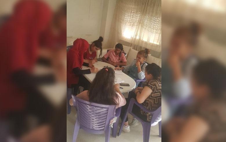 دورة لاتحاد نساء كوردستان في محو الأمية في قامشلو