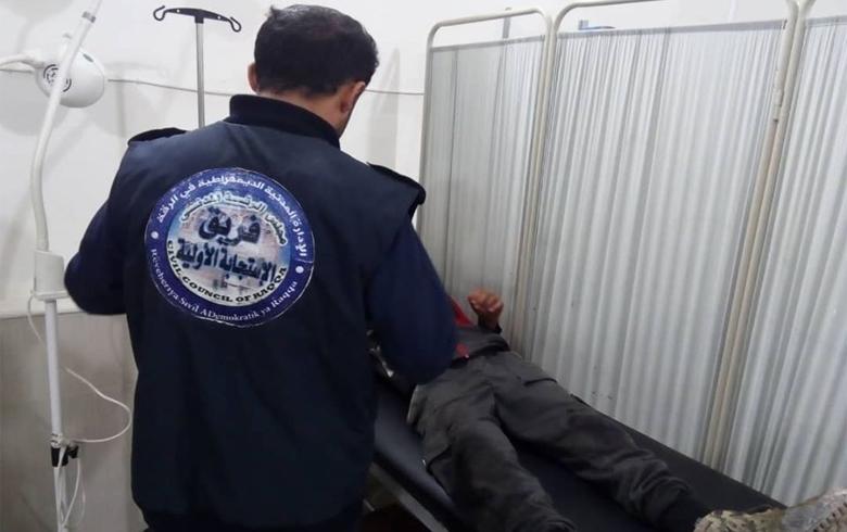 انفجار عبوة ناسفة بطفلين في مدينة الرقة