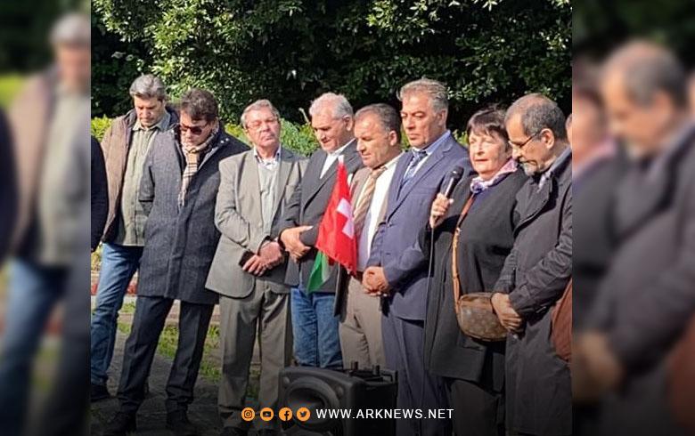 لوزان... PDK-S يحيي سنوية رحيل المناضل الدكتور نورالدين ظاظا أول رئیس للحزب